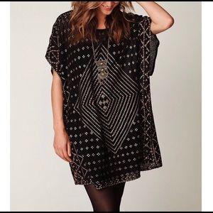Free People New Romantics Knit Embellished Dress